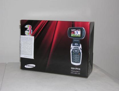 applicazione telefono samsung p910