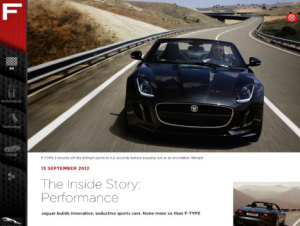 Jaguar F-TYPE Magazine