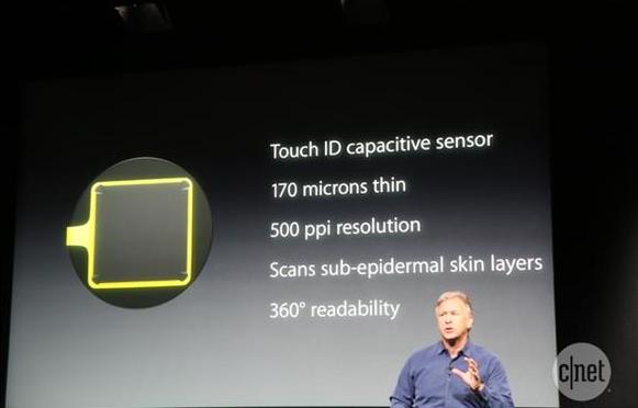 Touch ID sensor apple