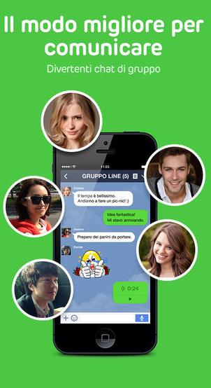 line chat fantasma