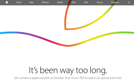 apple event ottobre 2014