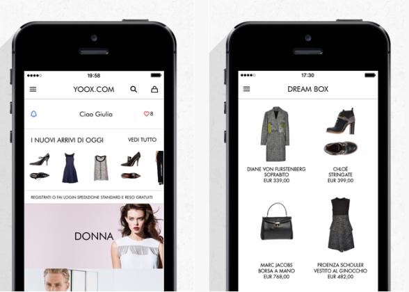 yoox.com app